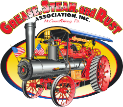 Grease Steam and Rust Logo